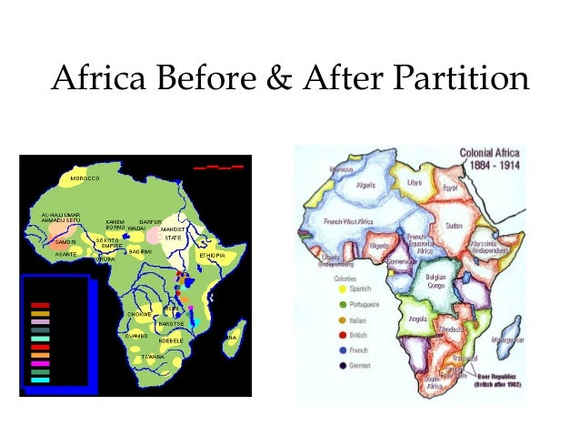 reasons for colonization of africa