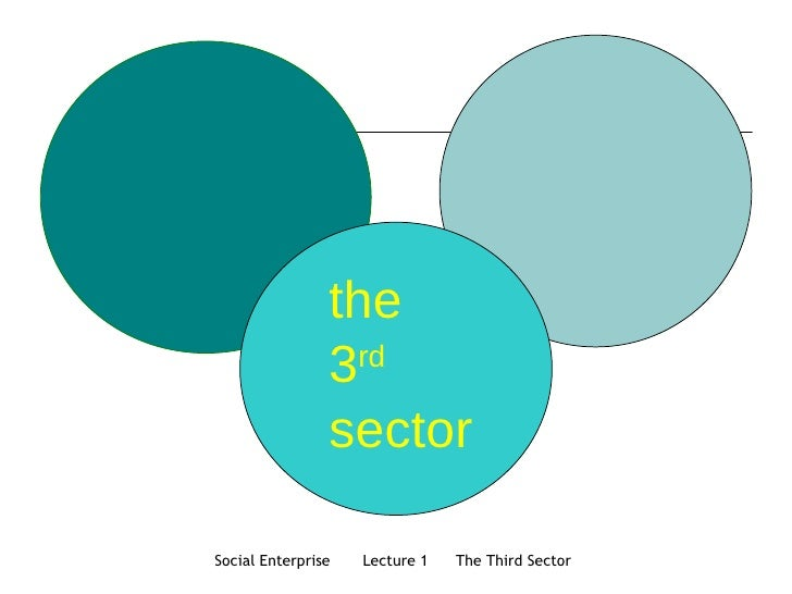 the 3 rd   sector