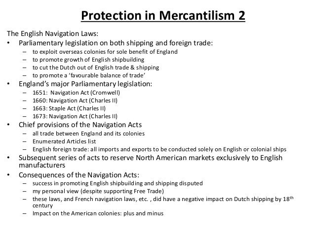 mercantilism vs laissez faire Yet, while mercantilism is not socialism, neither is it the laissez-faire that we  associate with anglo-american free market capitalism mercantilists.