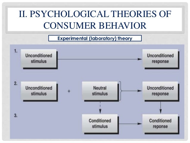 major theories of consumer behavior and Efforts to overcome the limitations of an economic approach to understanding resource exchange resulted in two major  in consumer behavior using resource theories.