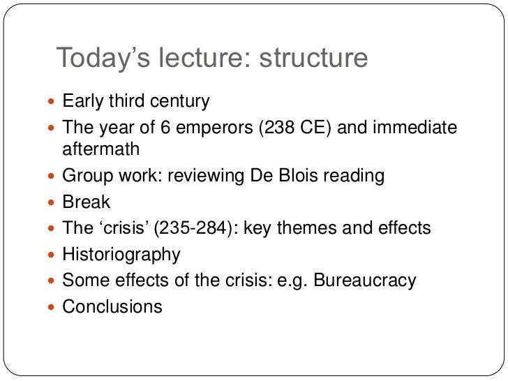 the crisis of the third century View crisis of the 3rd century research papers on academiaedu for free.