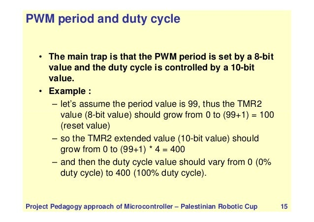 Lecture 2 timers, pwm, state machine IN PIC