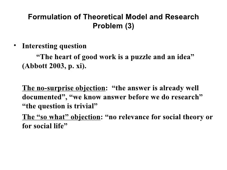 problem formulation essay Free social policy papers, essays, and research papers.