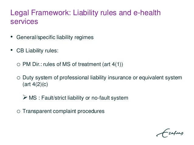 Justification of strict liability