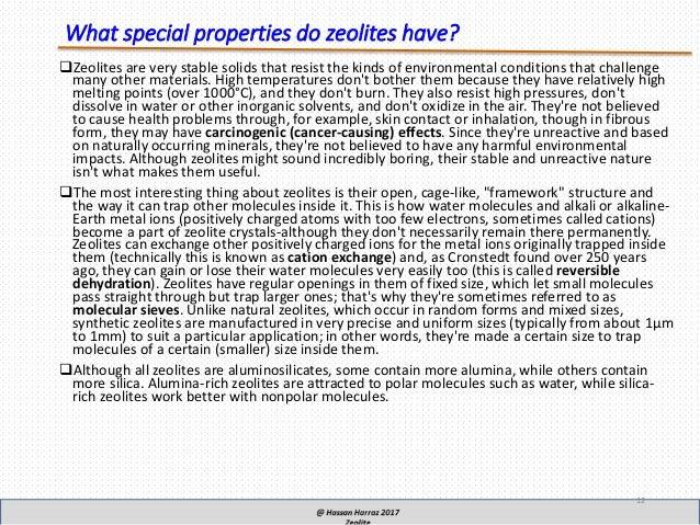 Zeolite Crystal Healing Properties