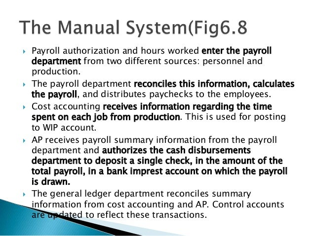 Lecture 22 Expenditure Cycle Part Ii Payroll Processing