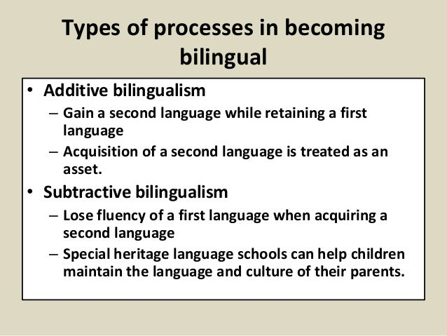 how to support bilingualism in early While children of every age benefit from learning a second language, research  studies particularly support starting bilingual education at the preschool level.