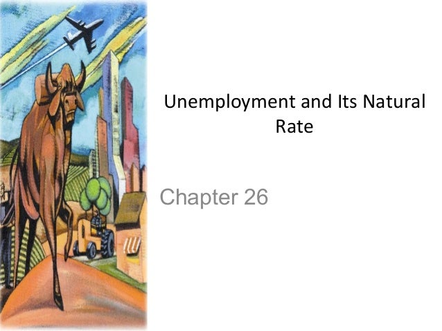 Unemployment and Its Natural Rate  Chapter 26