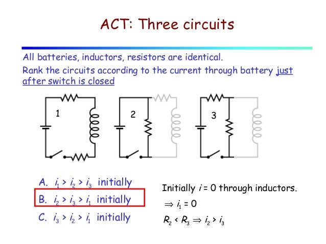 Lecture 27 inductors. stored energy. lr circuits