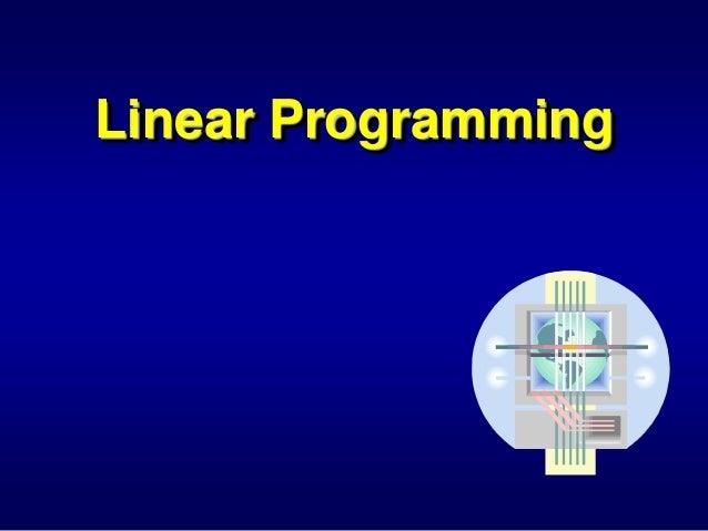 Sandeep Kumar Poonia . Linear Programming