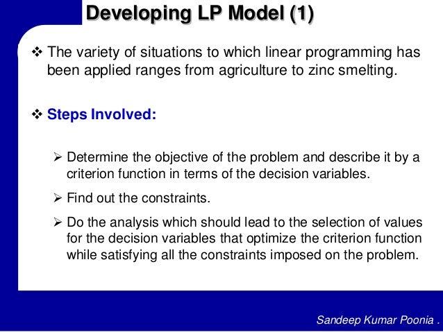 Steps involved in lpp