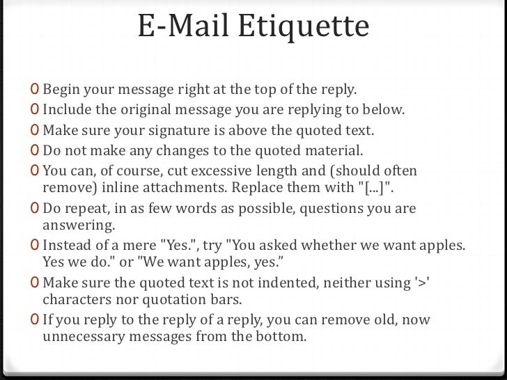 Lecture 28 2012 email etiquette 8 e mail greetings m4hsunfo