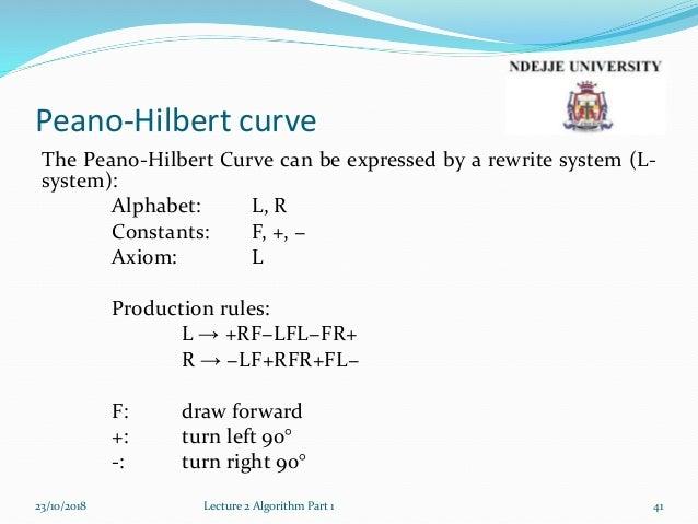 Lecture2a algorithm