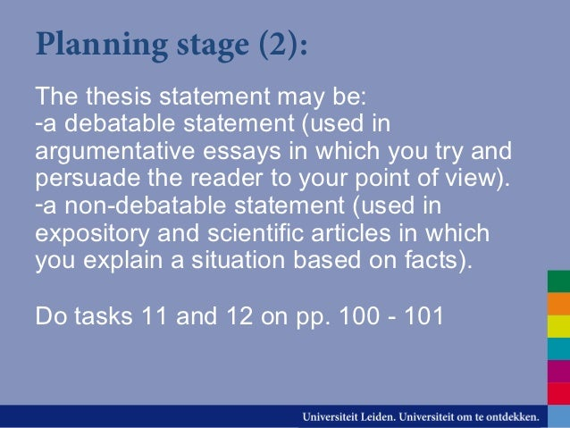 non argumentative thesis statement The history of non argumentative thesis statement, accra beach hotel 3 essay, curso de infantaria essay refuted.