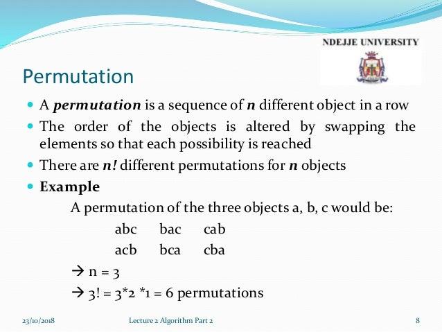 Lecture2b algorithm