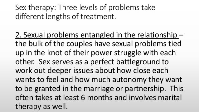 Lecture 2 Couple assessment: common problems experienced by couple