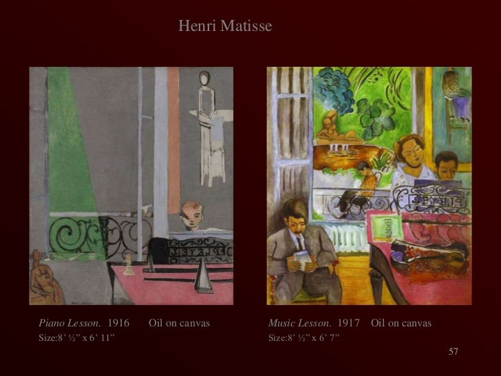 Matisse Piano Lesson