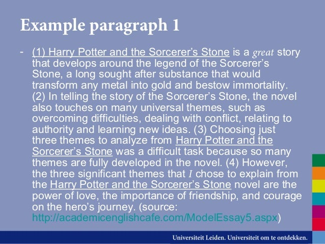 harry potter and the sorcerer stone thesis statements Harry potter and the philosopher s stone harry potter harry potter and the sorcerer's stone and in harry potter and the chamber of secrets.