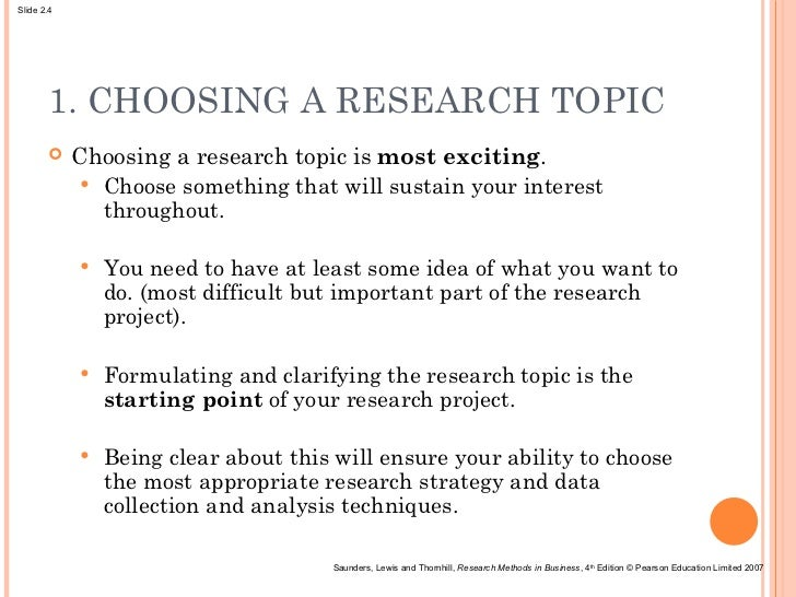 what is research idea