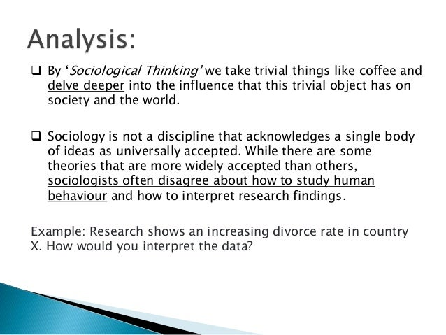 a study on sociological concepts by observing starbucks Answer to soci 111 - introduction to sociology american public university system homework assignment 1: observation due on by midnight the sunday of week 3.