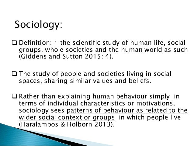Sociology Definition Of Case Study - The Case Study: What ...