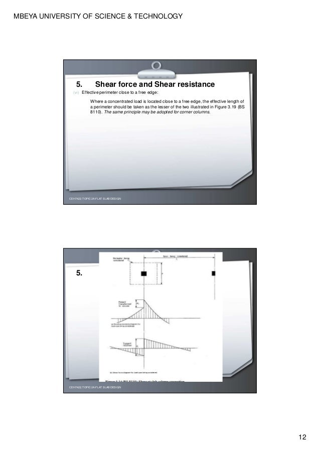 Design and detailing of flat slabs