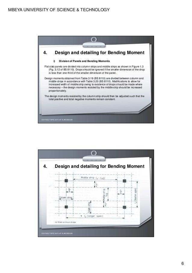 design and detailing of flat slabs rh slideshare net Two-Way Flat Plate Design Structural Slab Design