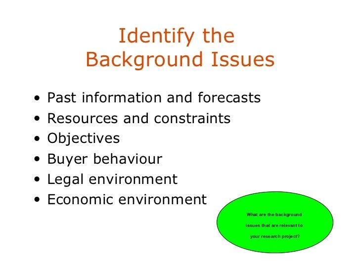 problem definition report essay