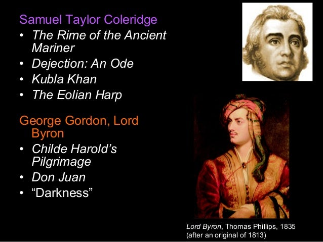 Samuel Taylor Coleridge Biography