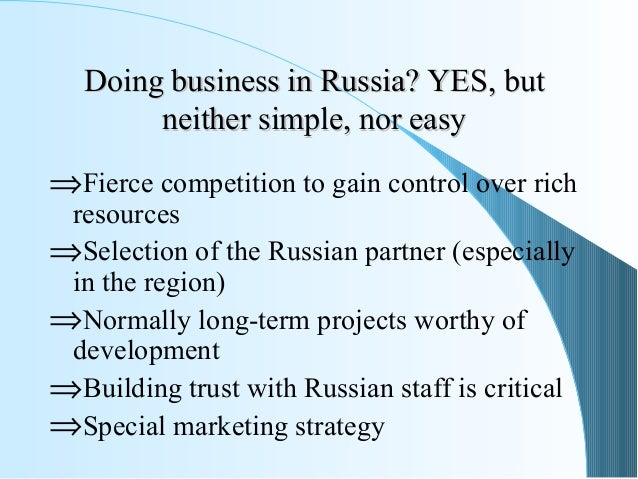 business culture in russia Russia is a growing market for exporters, but doing business in the country presents specific cultural considerations that differ from western practices.