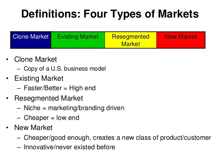 What Are the Three Types of Organizational Markets ...