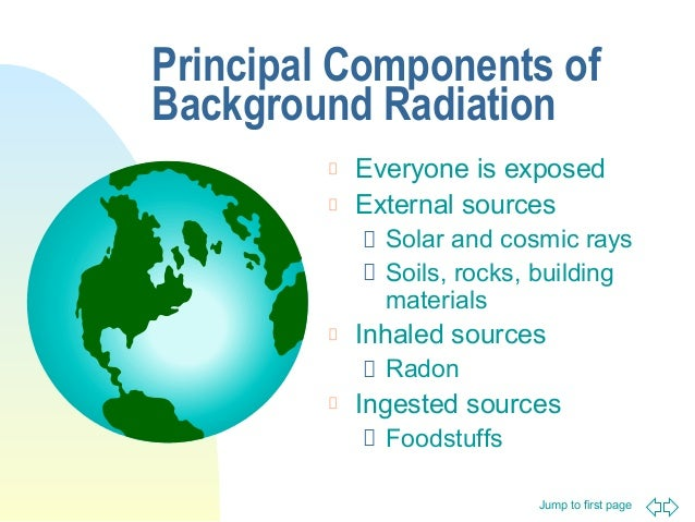 Lecture 3 Sources Of Radiation