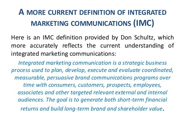 What do we know about IMC