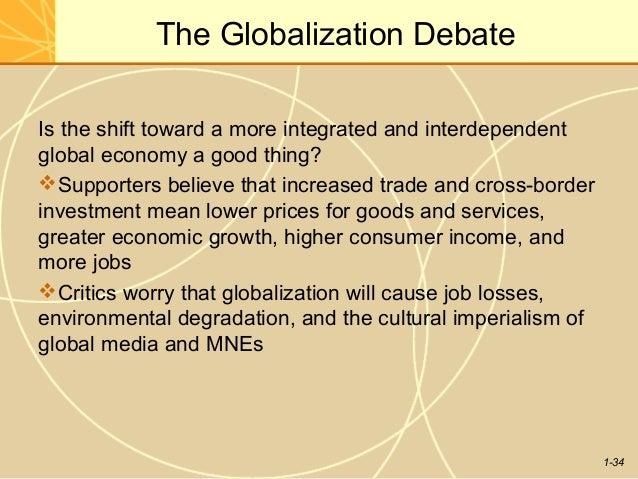 Globalisation argument