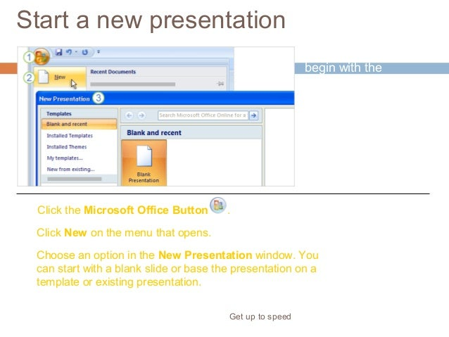 apply template in powerpoint 2007 to existing presentation choice, Presentation templates