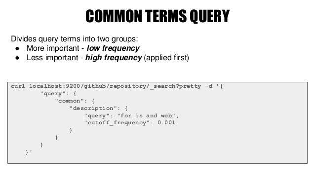 Academy PRO: Querying Elasticsearch