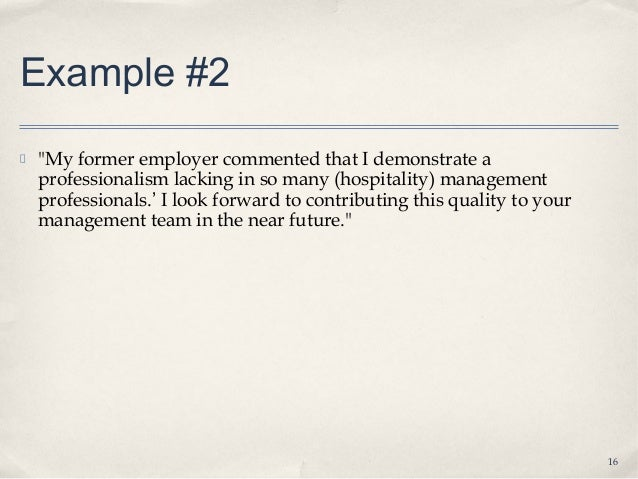 Lecture 31 How To Write A Cover Letter Student Notes - Cover-letter-to-former-employer