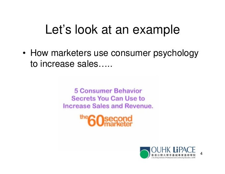 Comm6026 Lecture 3 Consumer Psychology