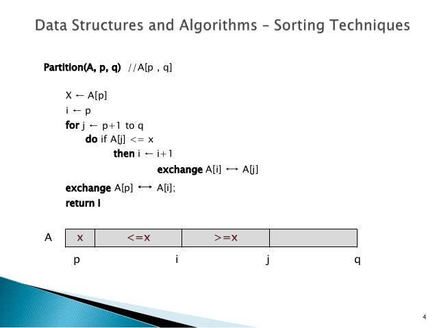 Lecture 3 data structures & algorithms - sorting ...