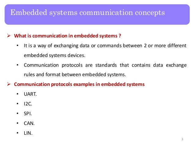 Raspberry Pi - Lecture 3 Embedded Communication Protocols