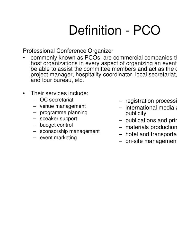 Definition   PCOProfessional ...