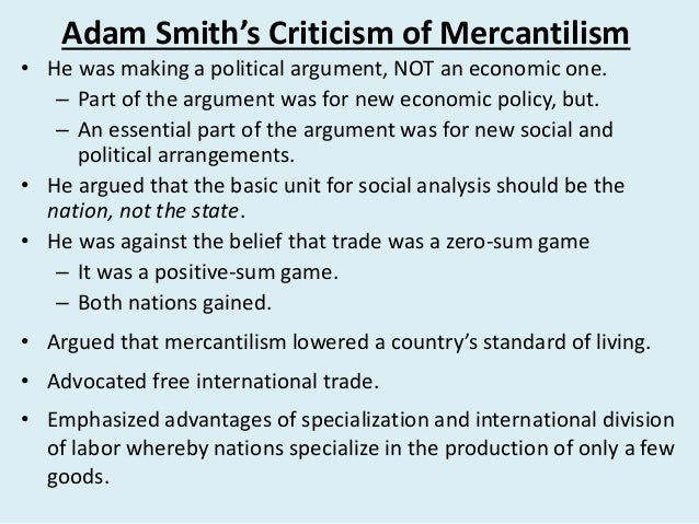 Adam smith vs karl marx essay