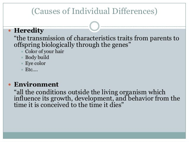 what is heredity and environment in psychology