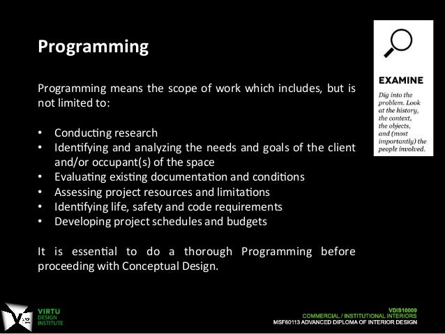 6 Programming Means The