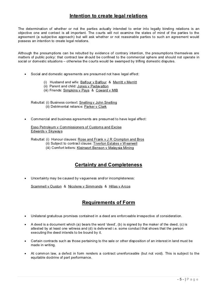 commercial contracts law notes Study notes contract law  promises which the law will enforceall contracts are agreements – but not all agreements are contractscontracts may be classified as .