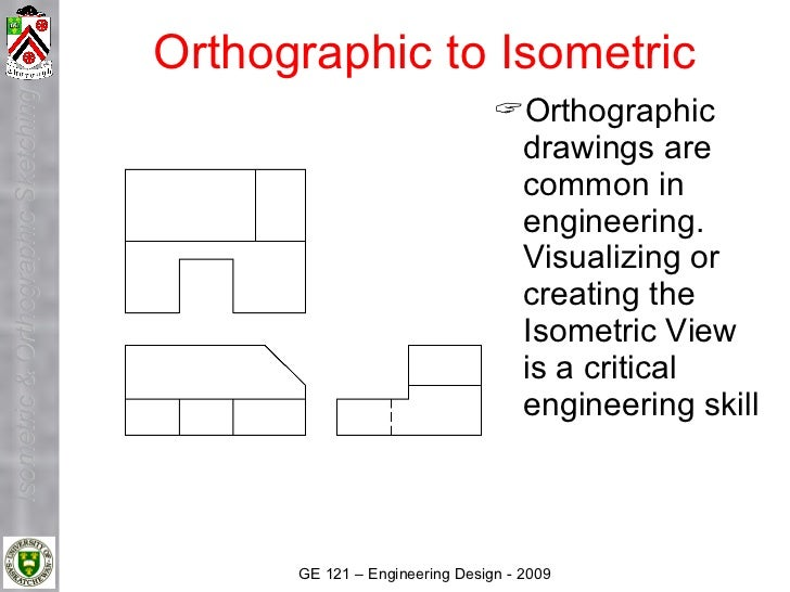 Lecture 3 A Isometric And Orthographic Sketching 2009