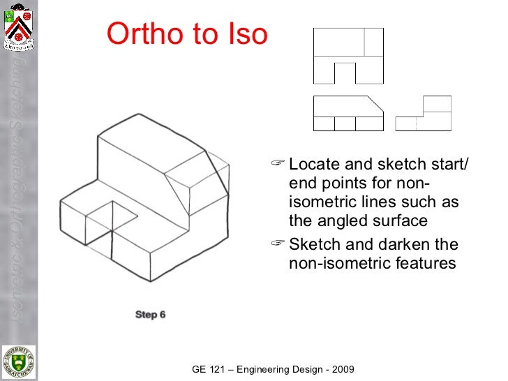Ortho to Iso Isometric & Orthographic Sketching                                                                 Locate an...
