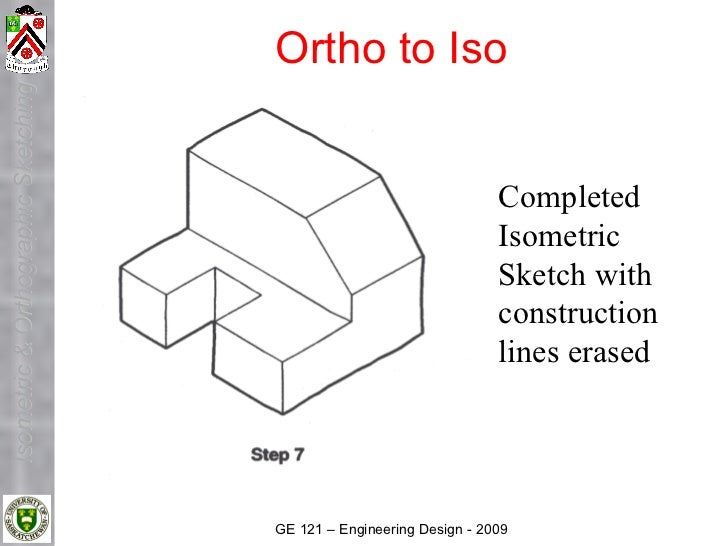 Ortho to Iso Isometric & Orthographic Sketching                                                                          C...