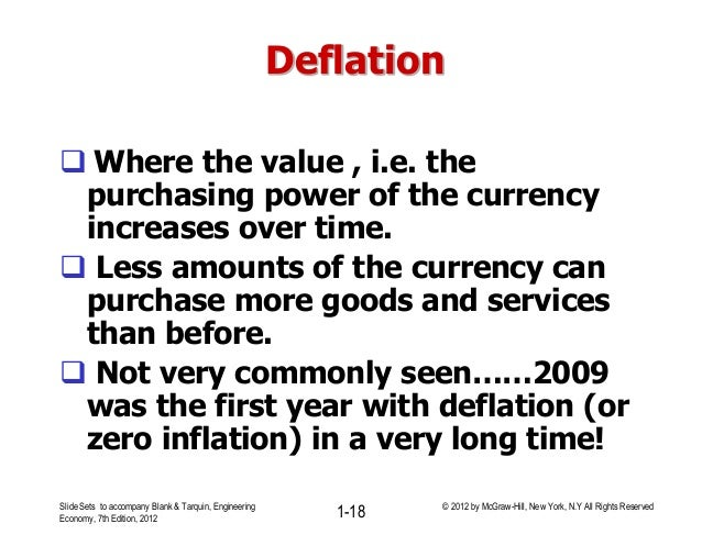 Lecture # 3 compounding factors effects of inflation