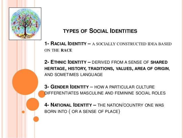 cultural identity example